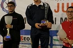 Maestro Vittorio sul podio con il Trofeo Camuno 2017