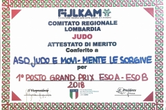 premiazione FIJLKAM Lombardia 4